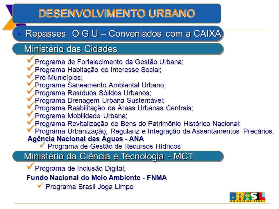 Programa de Fortalecimento da Gestão Urbana;