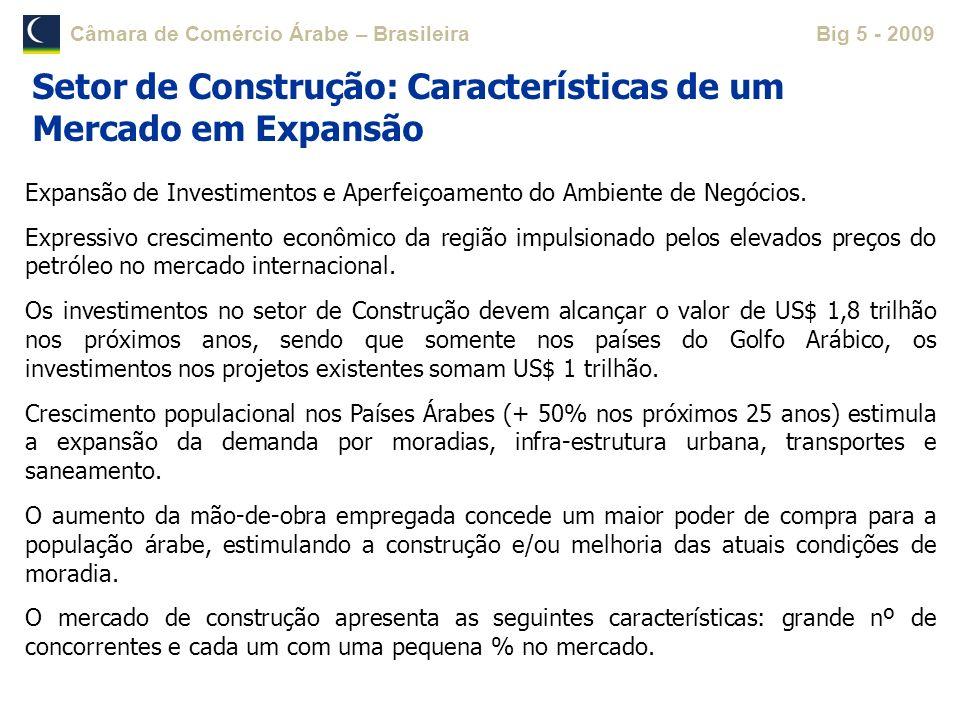 Setor de Construção: Características de um Mercado em Expansão