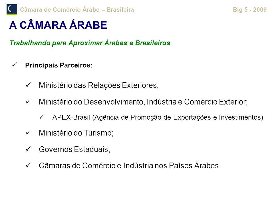 A CÂMARA ÁRABE Ministério das Relações Exteriores;