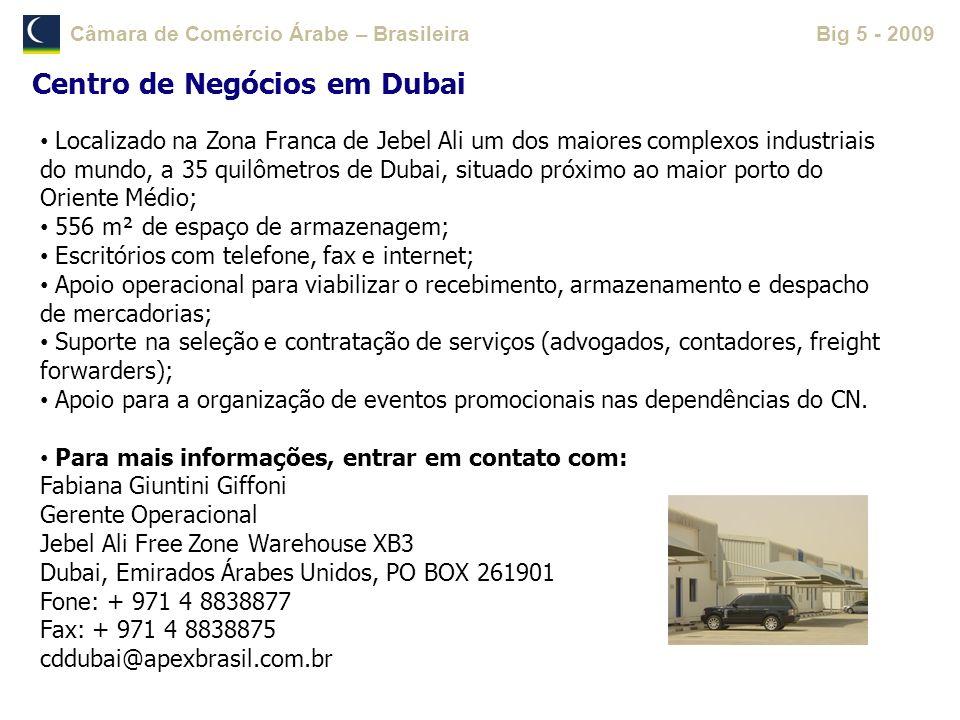 Centro de Negócios em Dubai