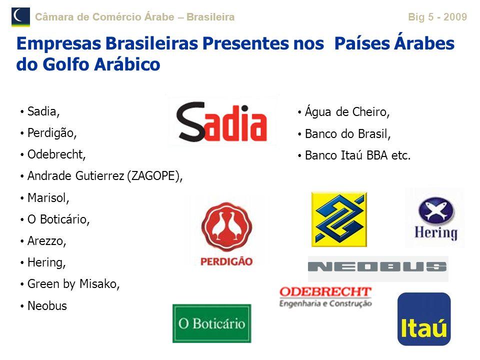 Empresas Brasileiras Presentes nos Países Árabes do Golfo Arábico