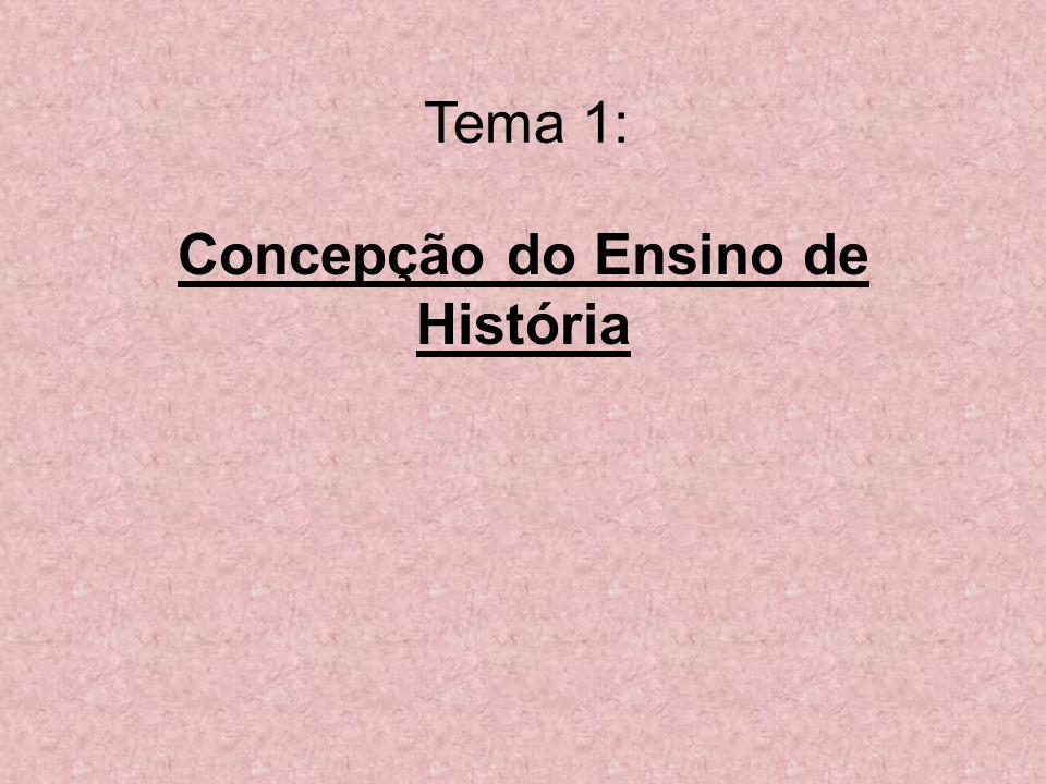 Concepção do Ensino de História