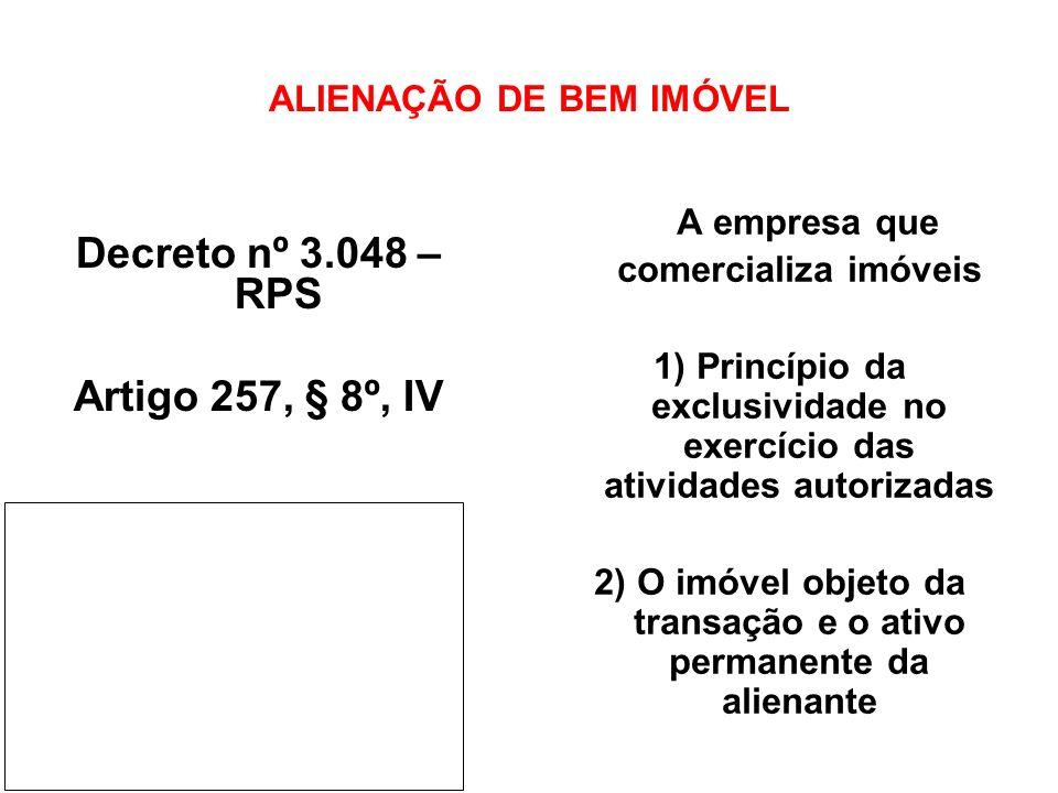 ALIENAÇÃO DE BEM IMÓVEL