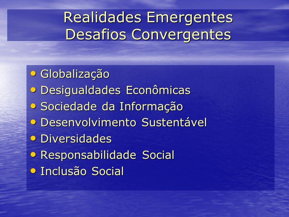 Realidades Emergentes Desafios Convergentes
