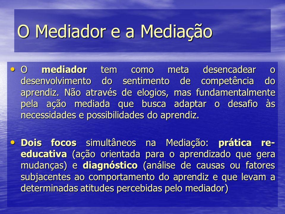 O Mediador e a Mediação