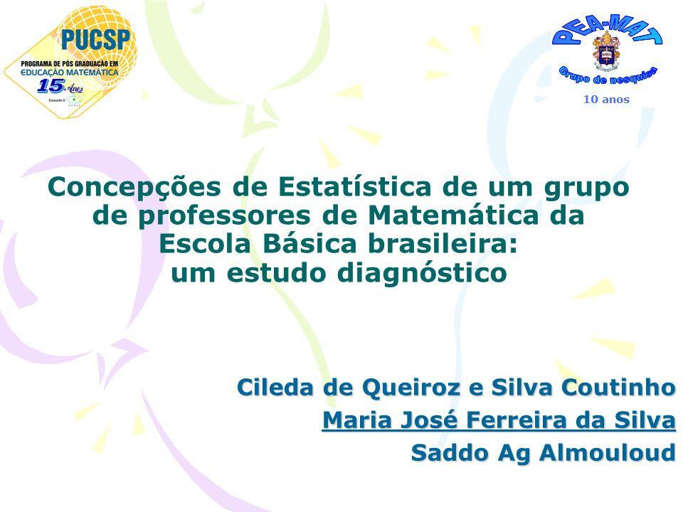 Concepções de Estatística de um grupo de professores de Matemática da Escola Básica brasileira: um estudo diagnóstico