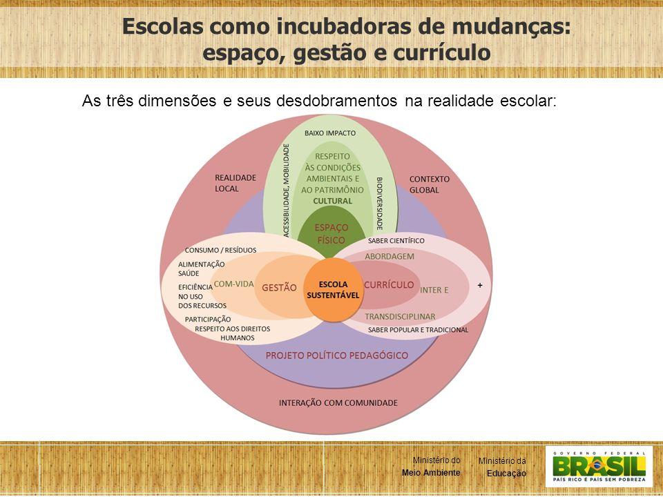 Escolas como incubadoras de mudanças: espaço, gestão e currículo