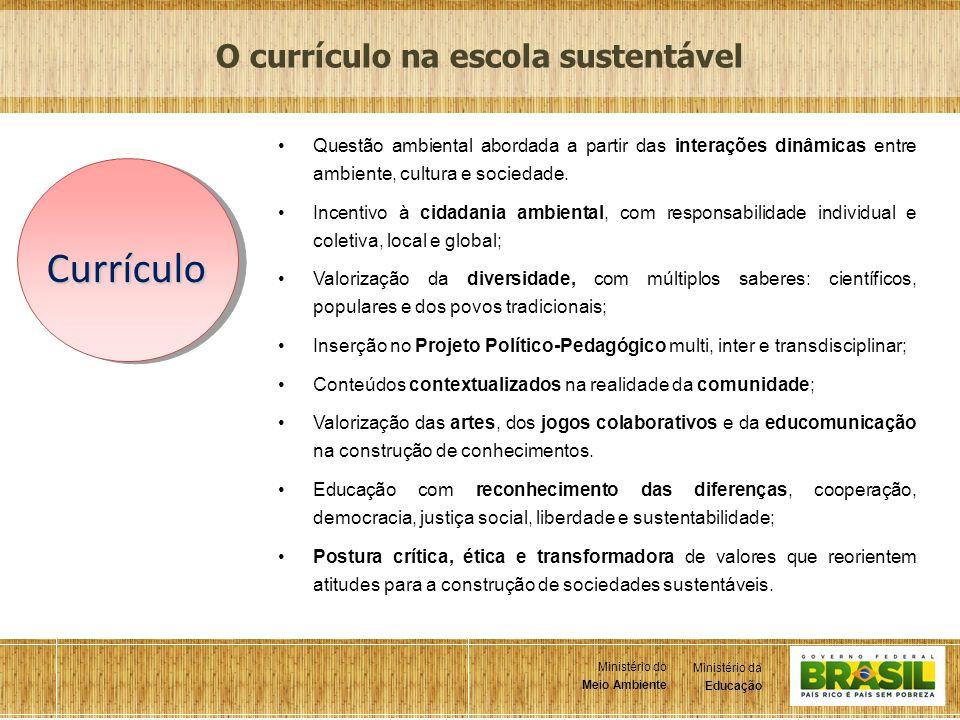 O currículo na escola sustentável