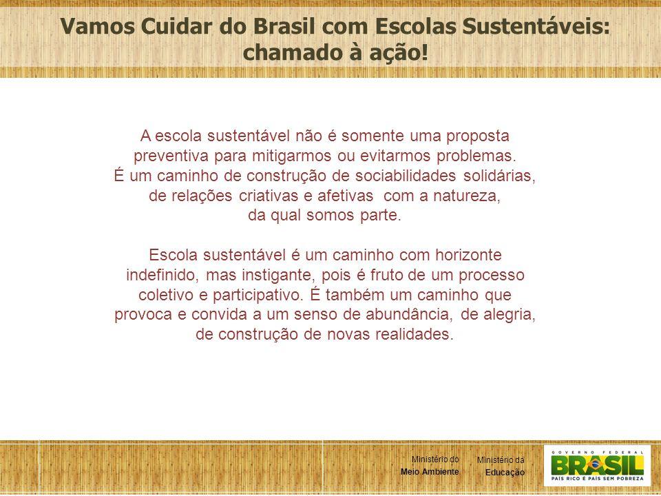 Vamos Cuidar do Brasil com Escolas Sustentáveis: chamado à ação!