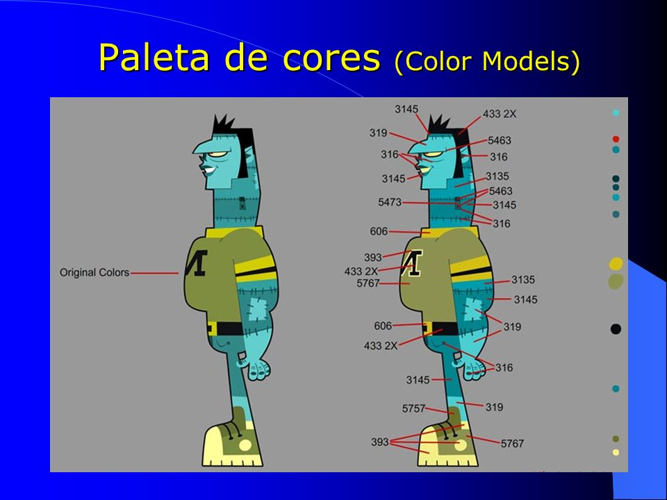 Paleta de cores (Color Models)