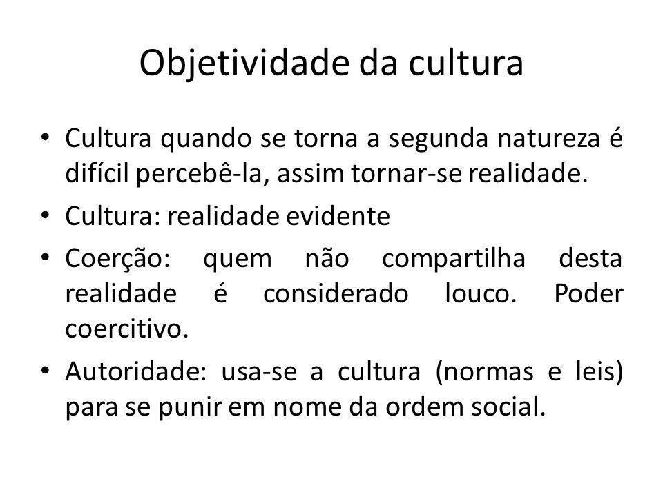 Objetividade da cultura