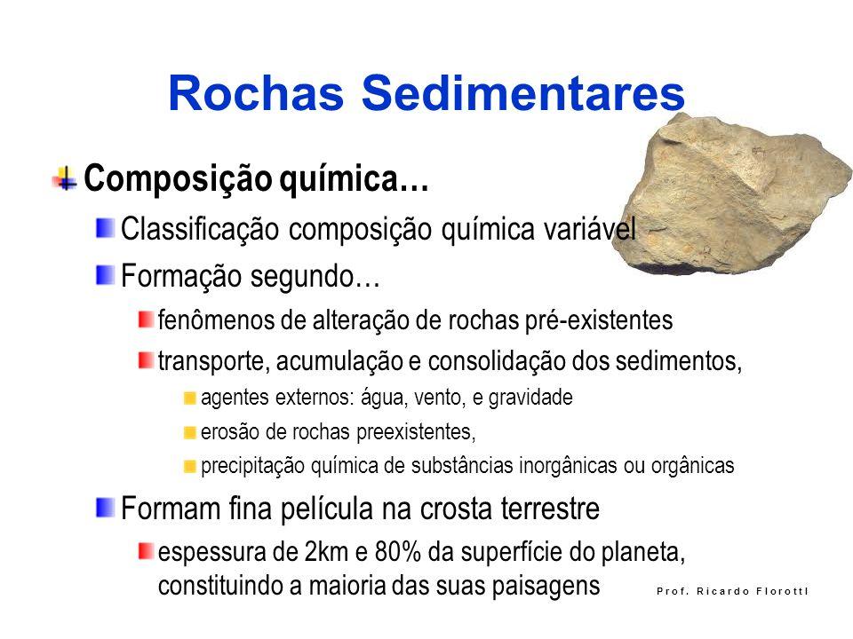 Rochas Sedimentares Composição química…