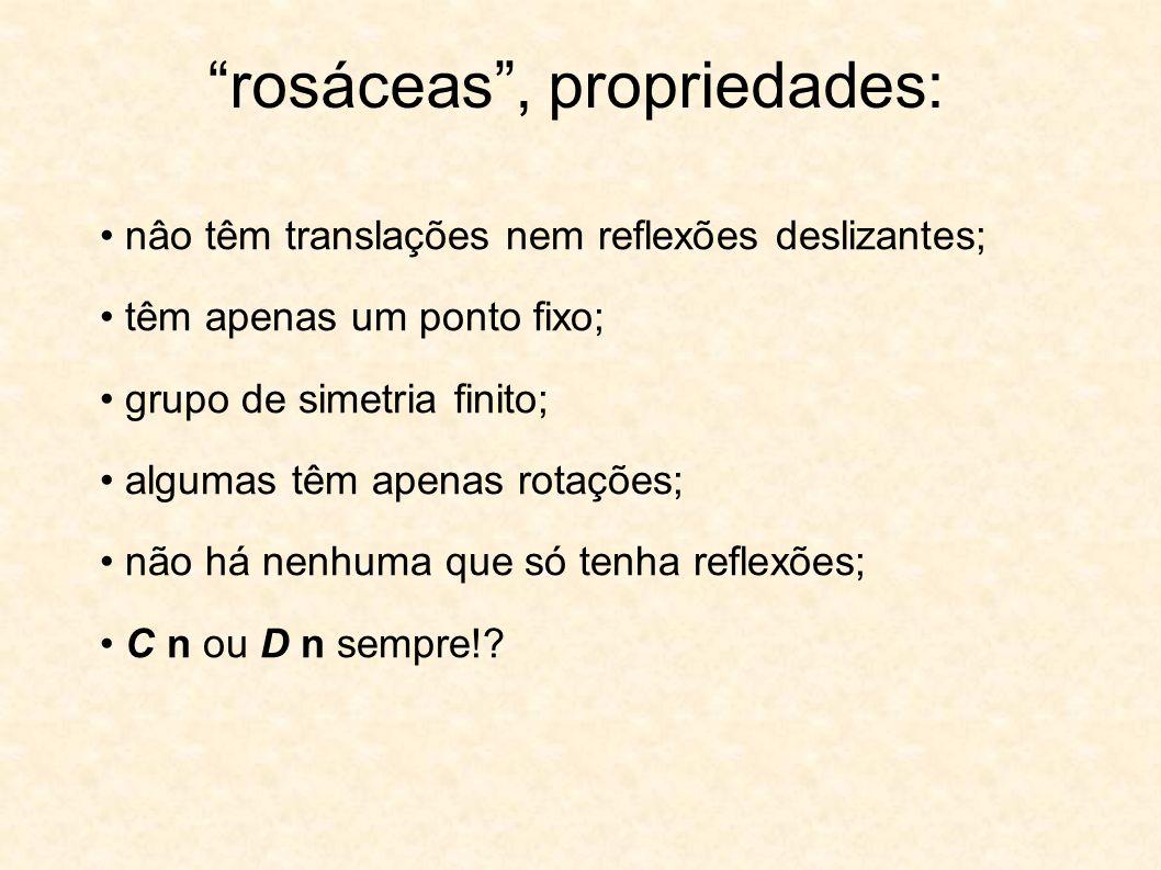 rosáceas , propriedades: