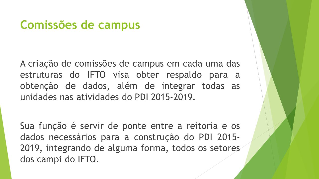 Comissões de campus