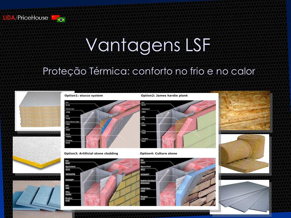 Vantagens LSF Proteção Térmica: conforto no frio e no calor
