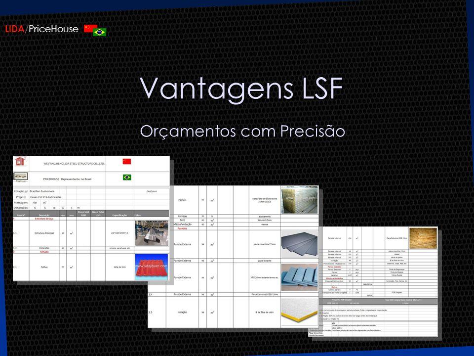 Vantagens LSF Orçamentos com Precisão