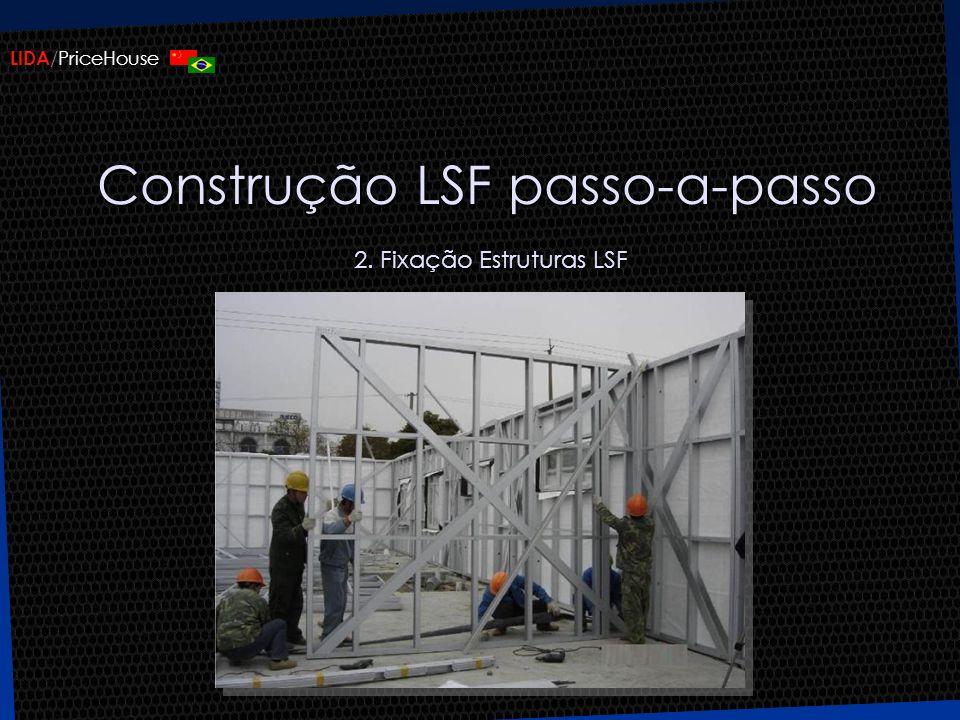 Construção LSF passo-a-passo 2. Fixação Estruturas LSF