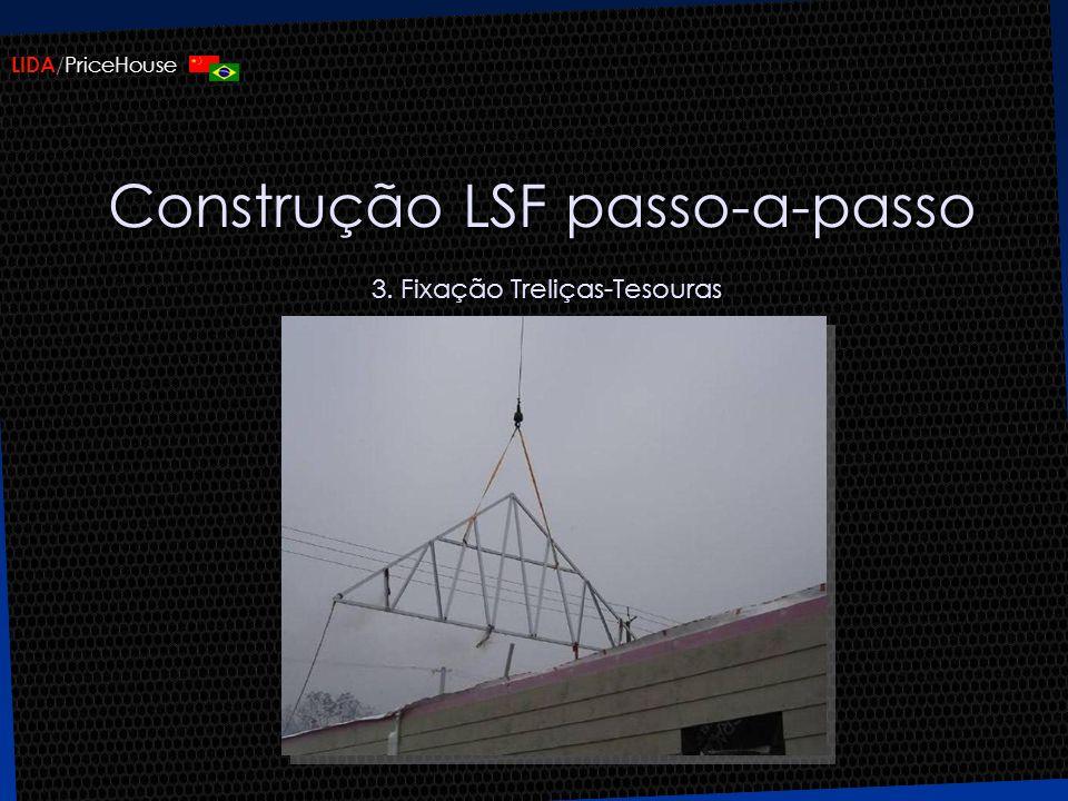 Construção LSF passo-a-passo 3. Fixação Treliças-Tesouras