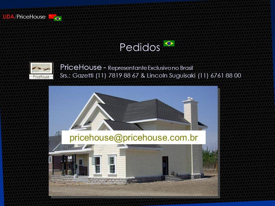 Pedidos pricehouse@pricehouse.com.br