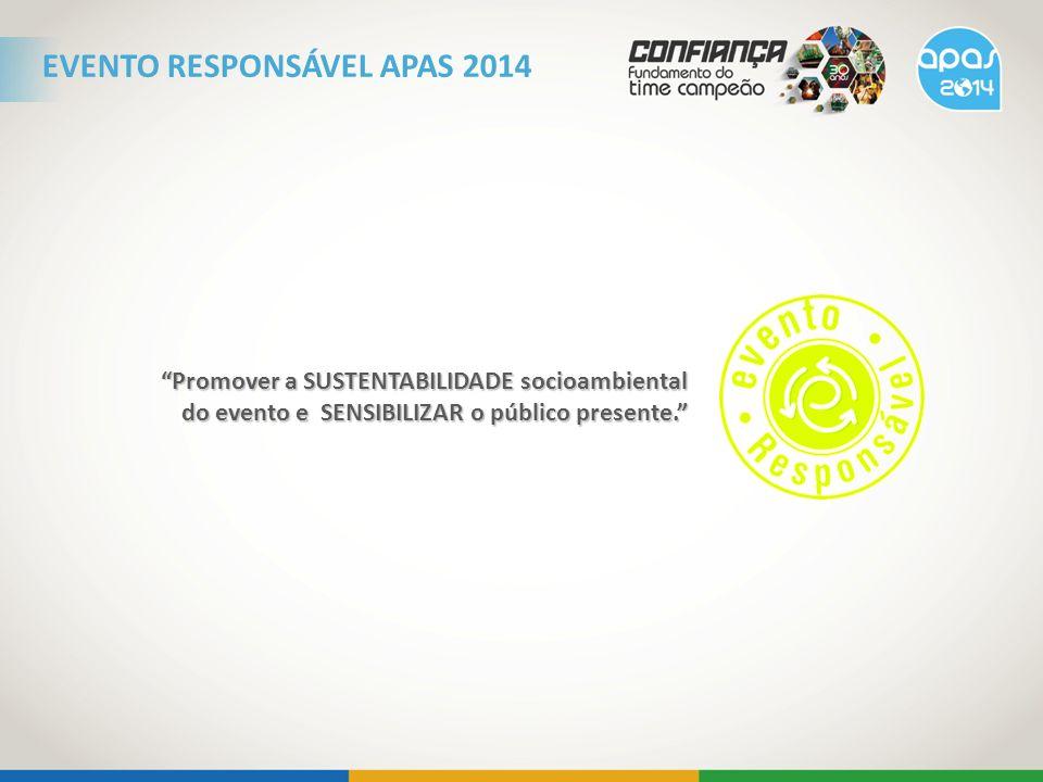 EVENTO RESPONSÁVEL APAS 2014