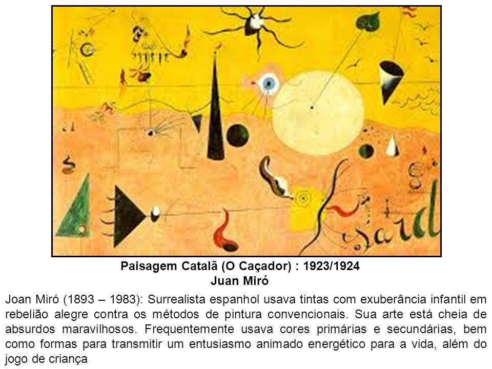 Paisagem Catalã (O Caçador) : 1923/1924