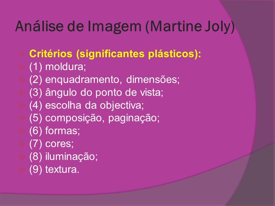 Análise de Imagem (Martine Joly)