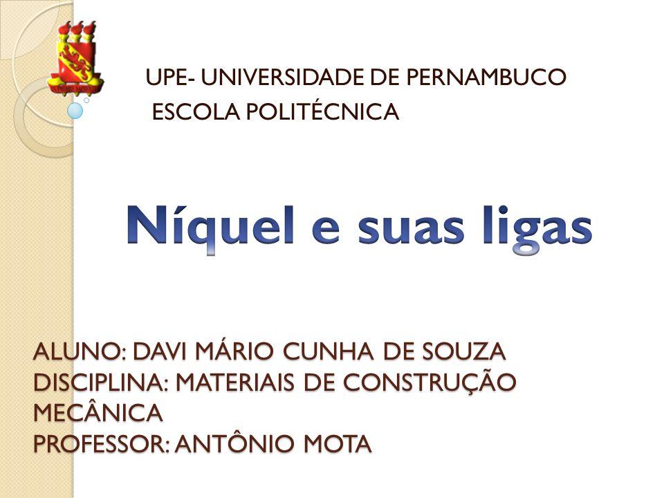 UPE- UNIVERSIDADE DE PERNAMBUCO ESCOLA POLITÉCNICA