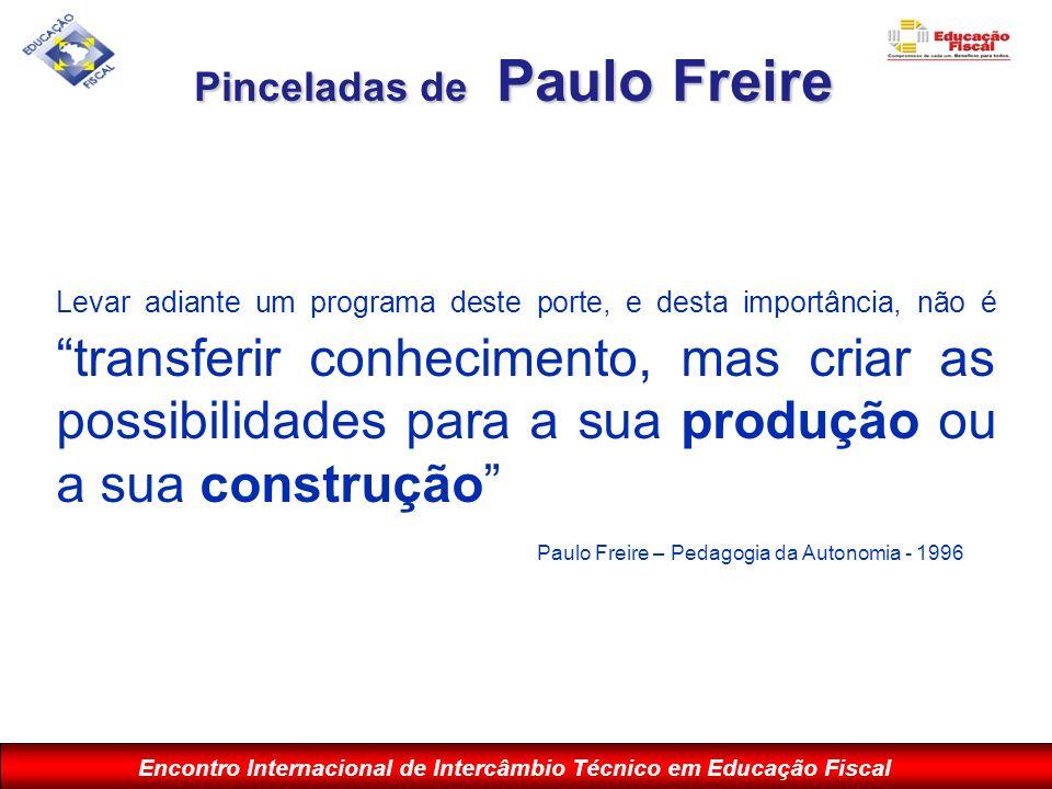 Pinceladas de Paulo Freire