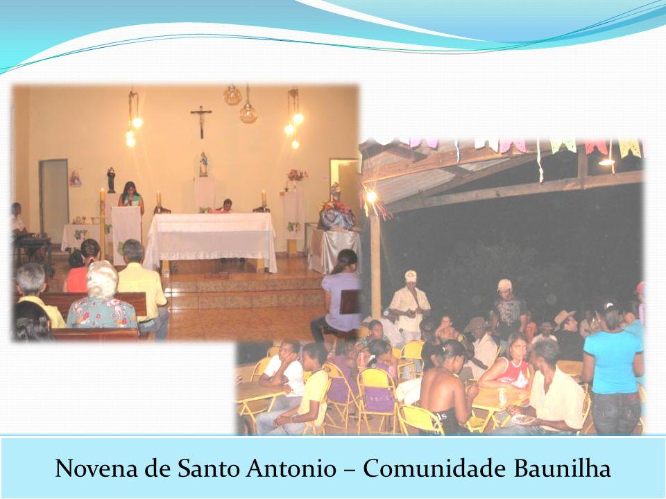 Novena de Santo Antonio – Comunidade Baunilha