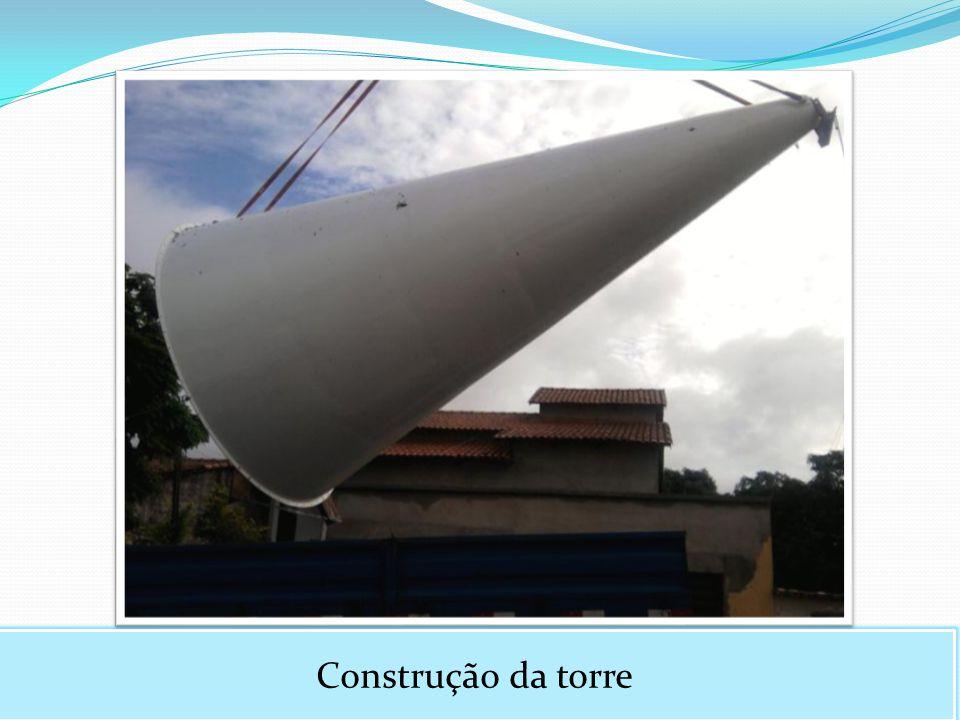 Construção da torre