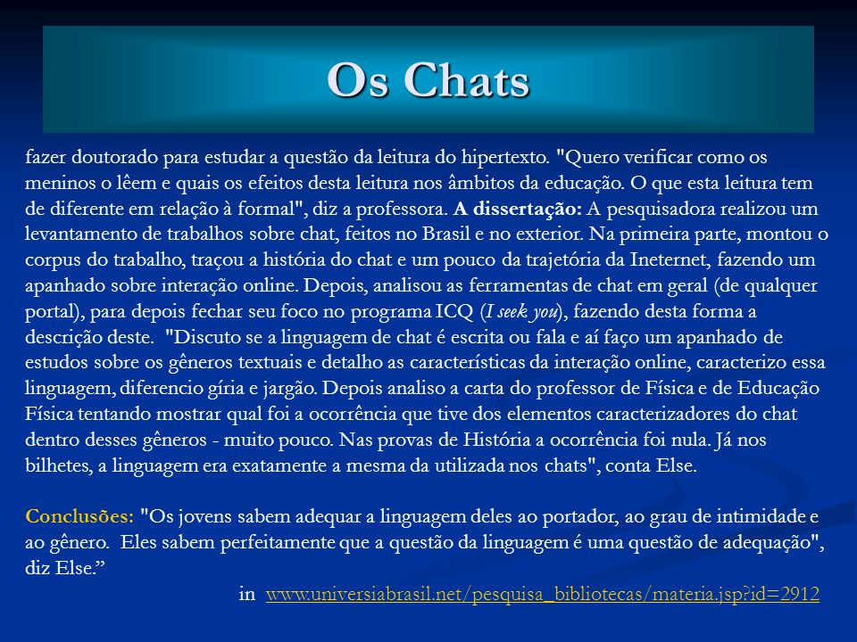 Os Chats