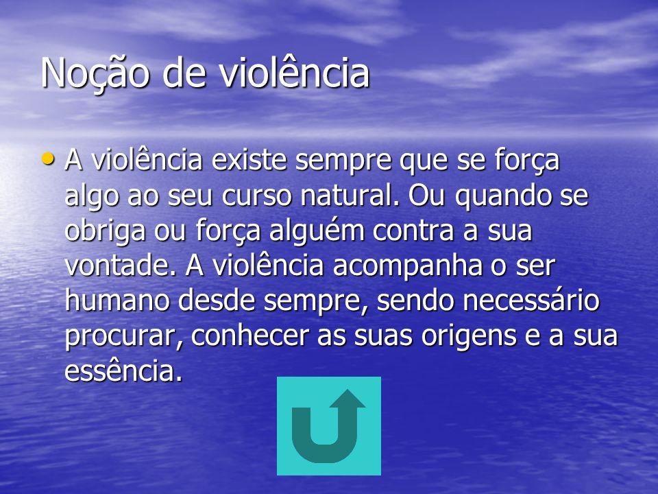 Noção de violência