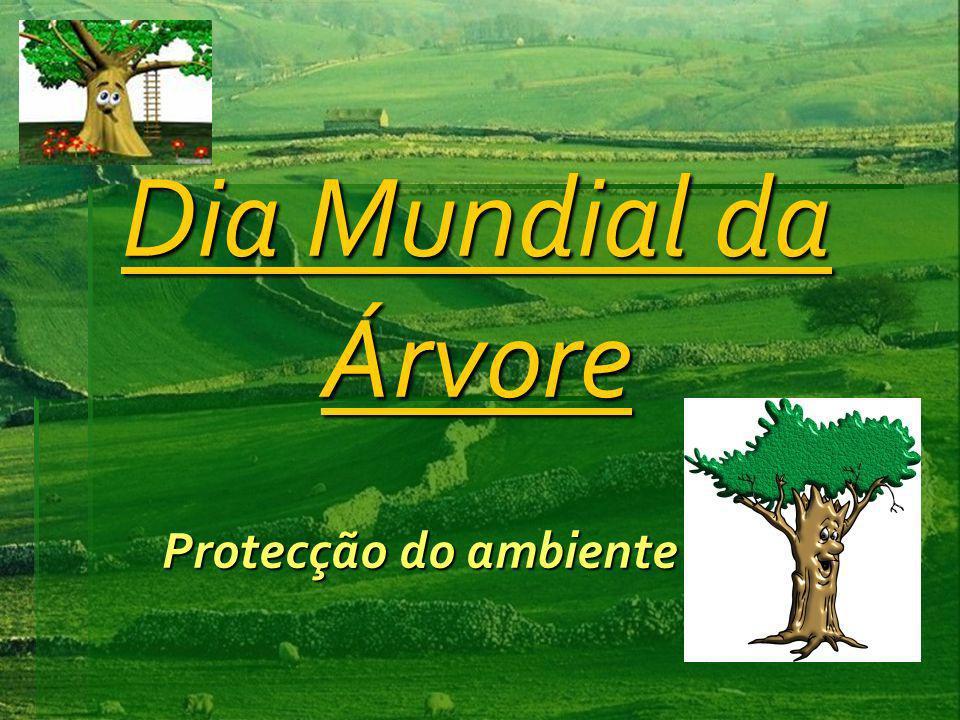 Dia Mundial da Árvore Protecção do ambiente