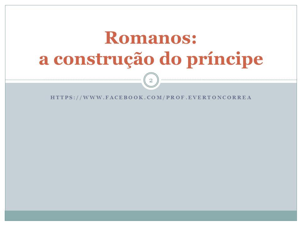 Romanos: a construção do príncipe