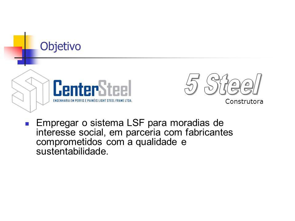 Objetivo 5 Steel. Construtora.