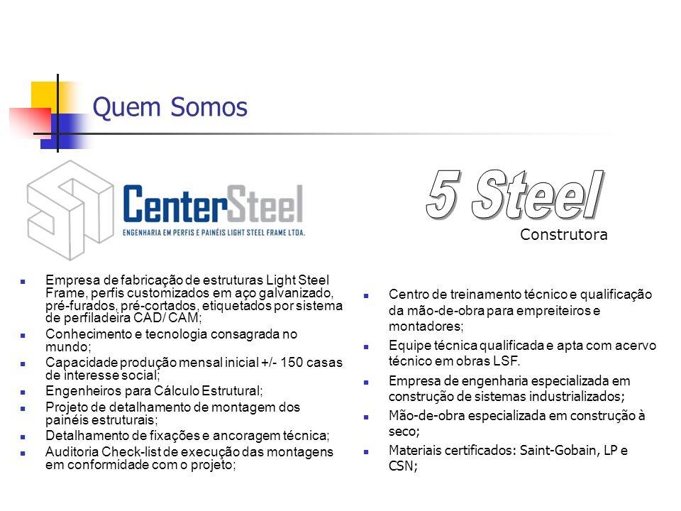 5 Steel Quem Somos Construtora