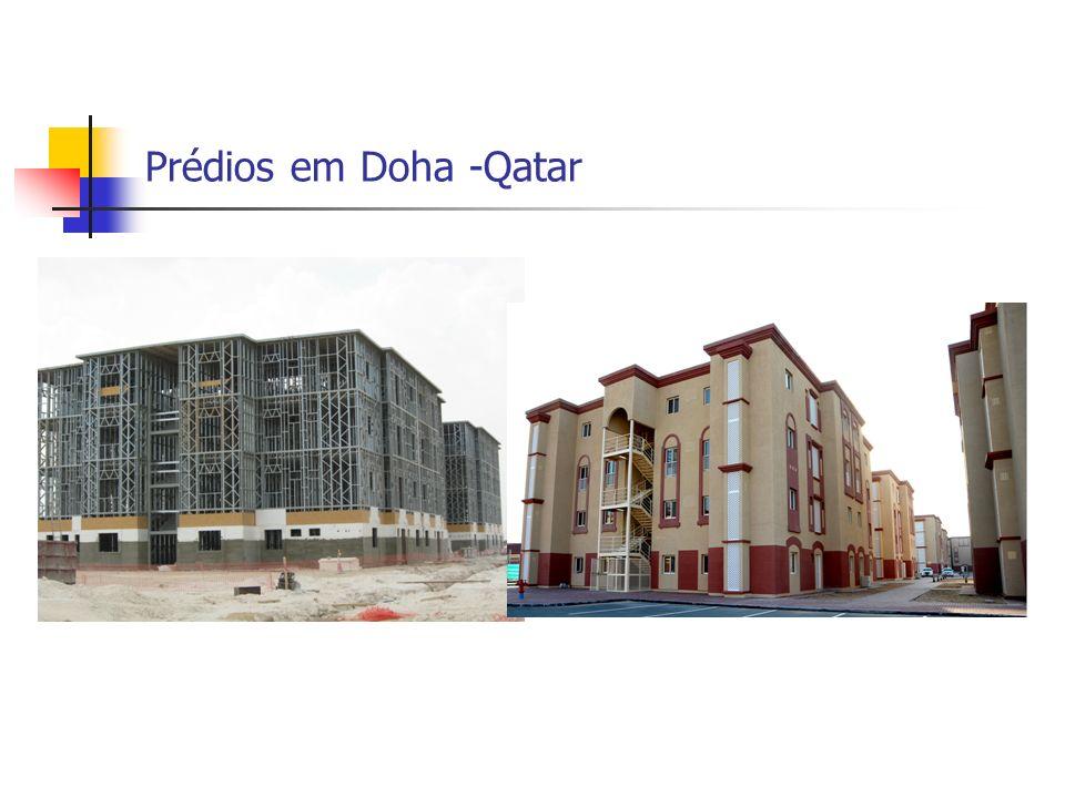 Prédios em Doha -Qatar
