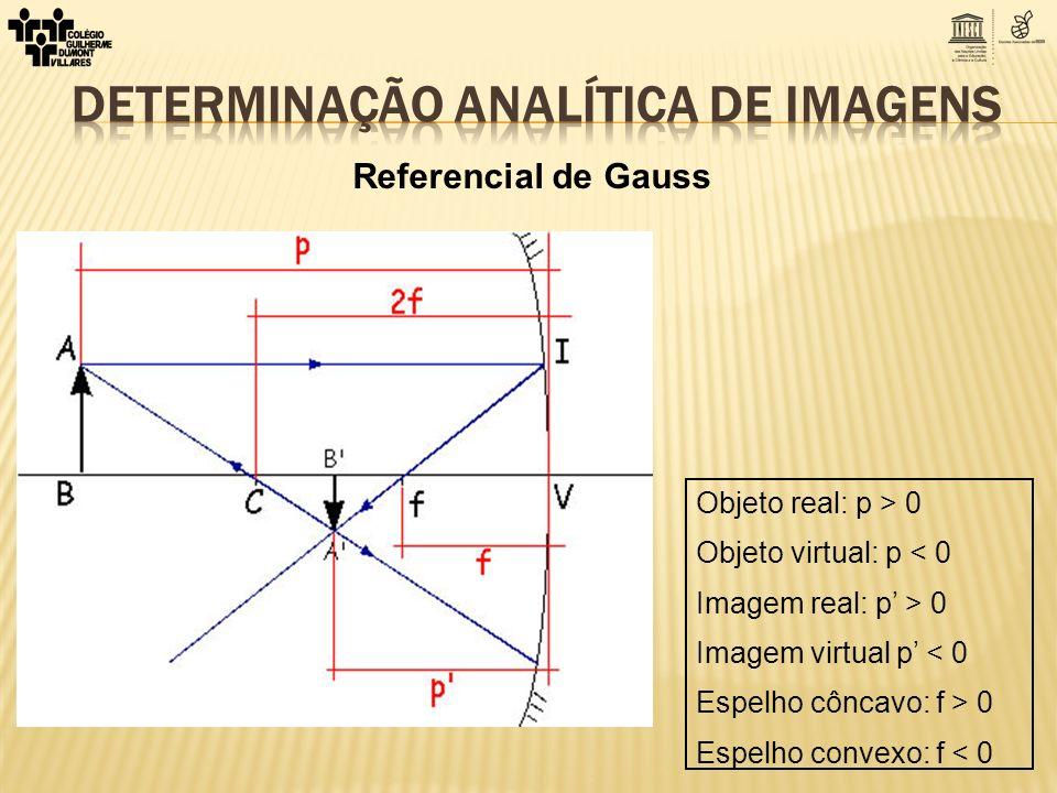 DETERMINAÇÃO ANALÍTICA DE IMAGENS