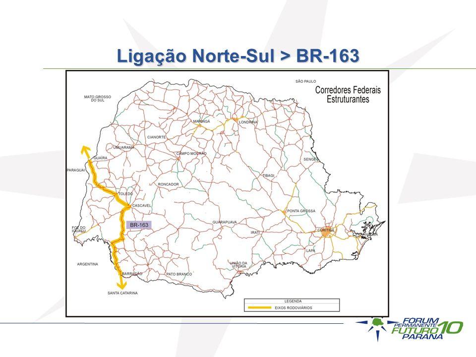 Ligação Norte-Sul > BR-163