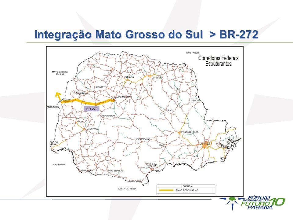 Integração Mato Grosso do Sul > BR-272
