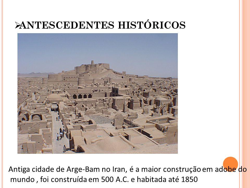 ANTESCEDENTES HISTÓRICOS