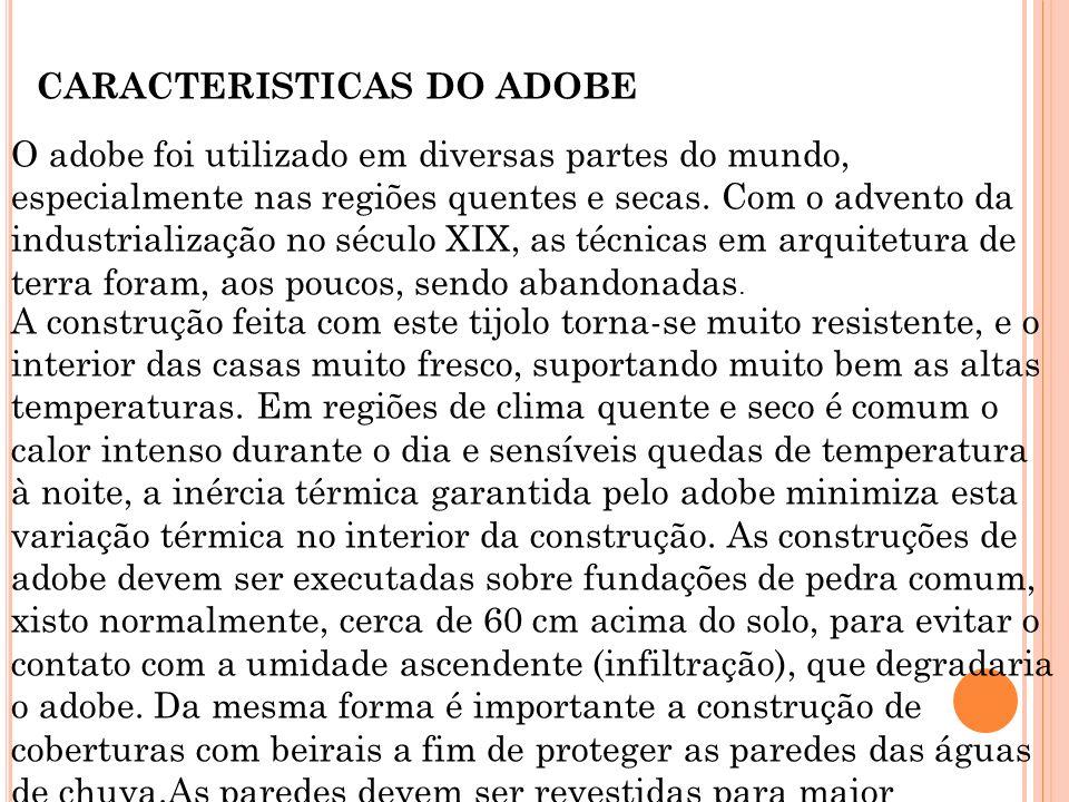 CARACTERISTICAS DO ADOBE