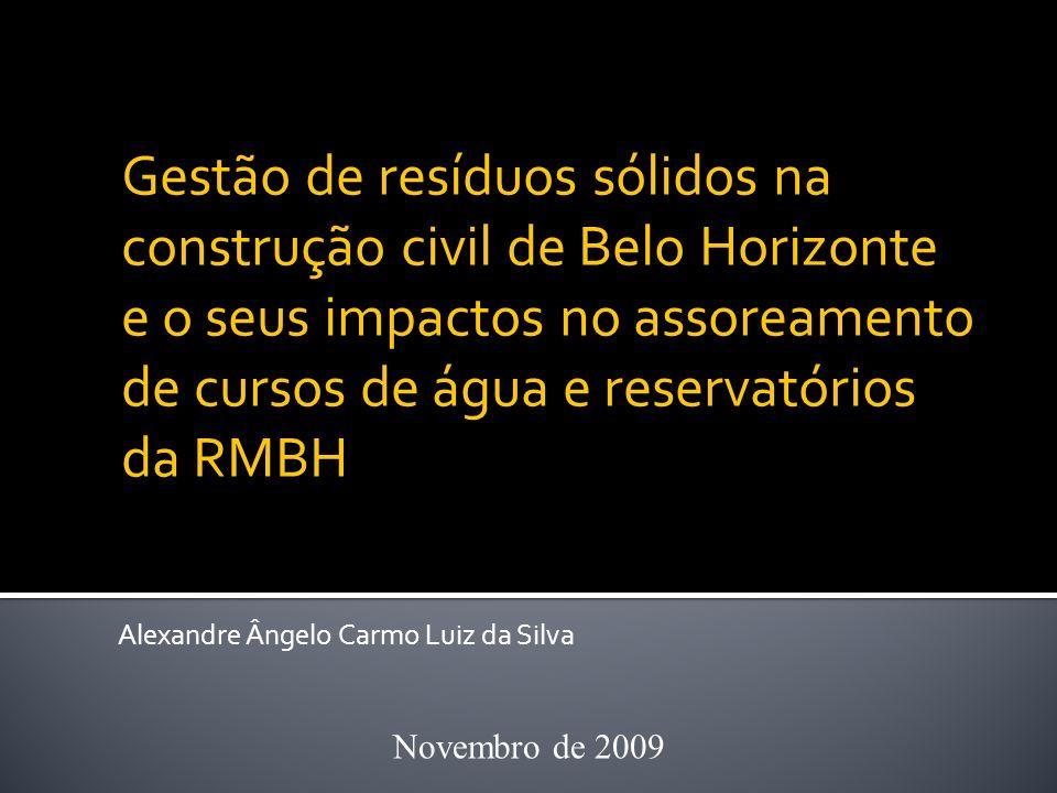 Gestão de resíduos sólidos na construção civil de Belo Horizonte