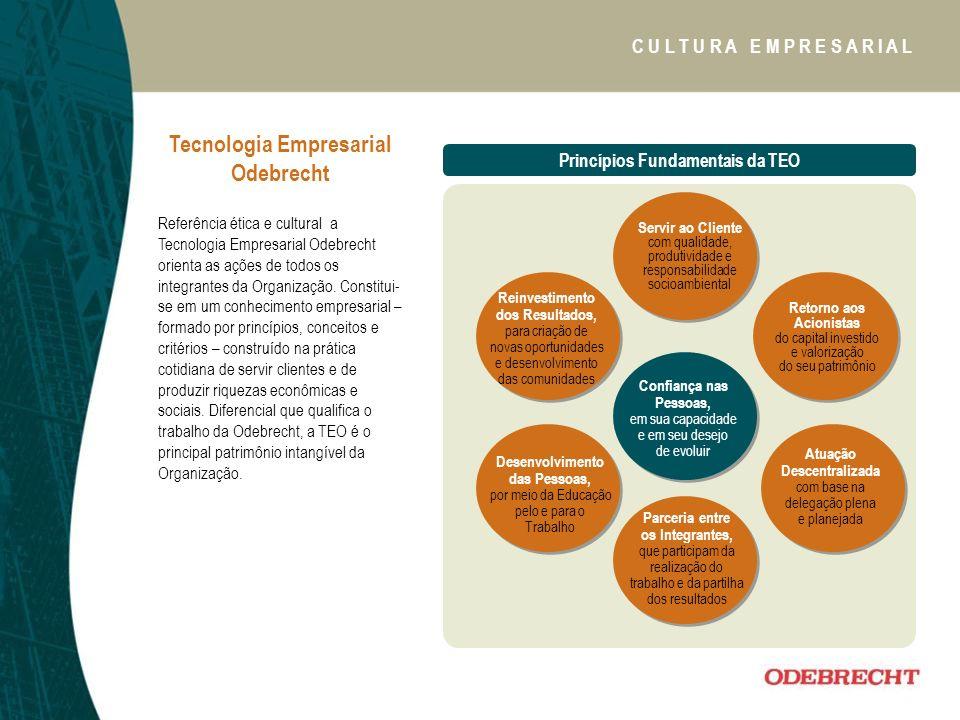 Tecnologia Empresarial Odebrecht Princípios Fundamentais da TEO