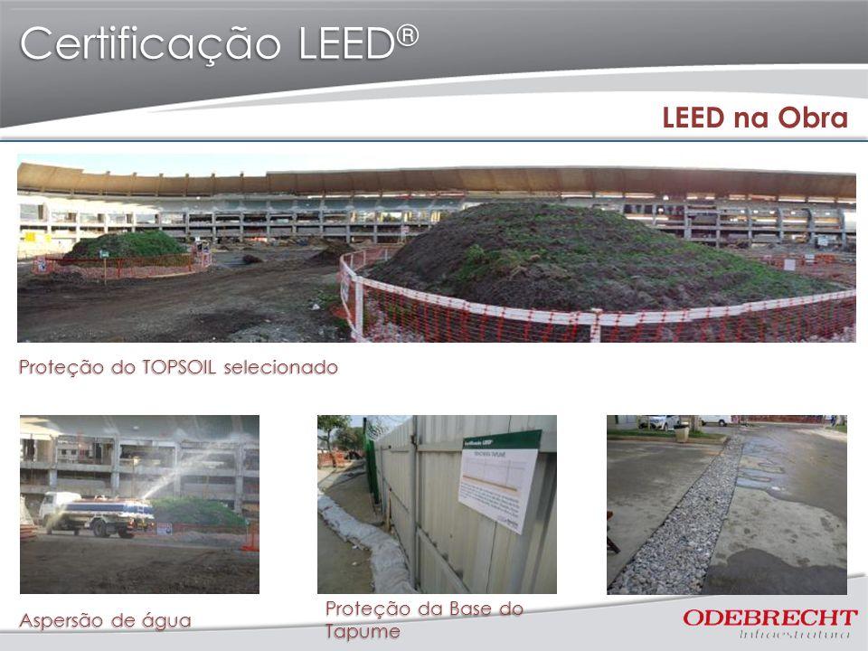 Certificação LEED® LEED na Obra Proteção do TOPSOIL selecionado
