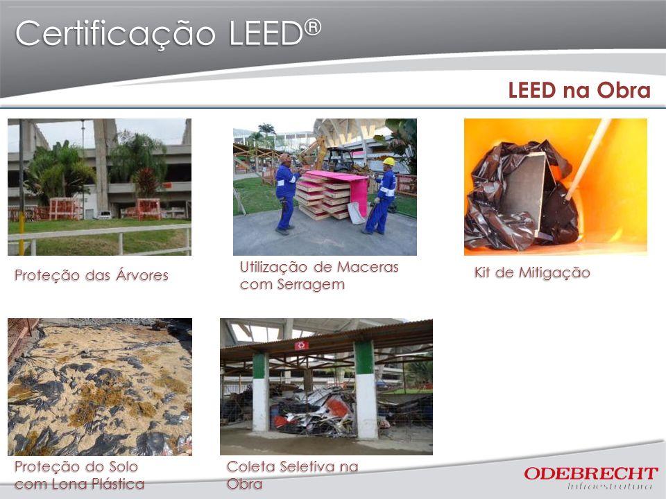 Certificação LEED® LEED na Obra Proteção das Árvores