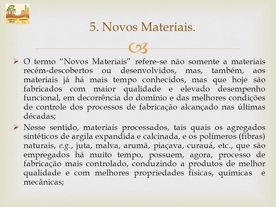5. Novos Materiais.