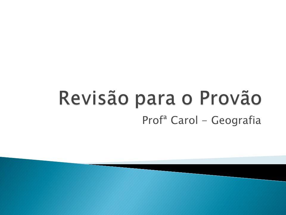 Profª Carol - Geografia