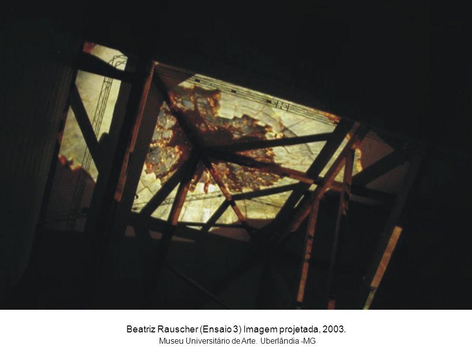 Beatriz Rauscher (Ensaio 3) Imagem projetada, 2003.