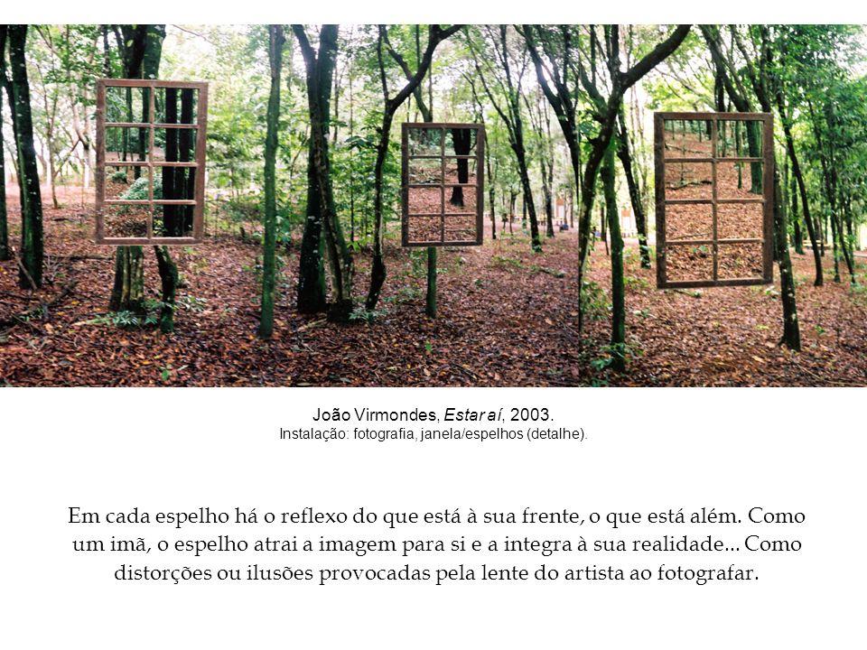 João Virmondes, Estar aí, 2003.